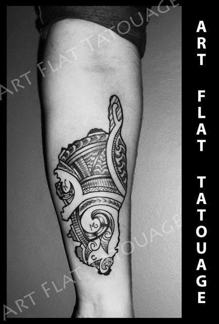 Phil Tatoueur Chez Art Flat Tatouage Art Flat Tatouage