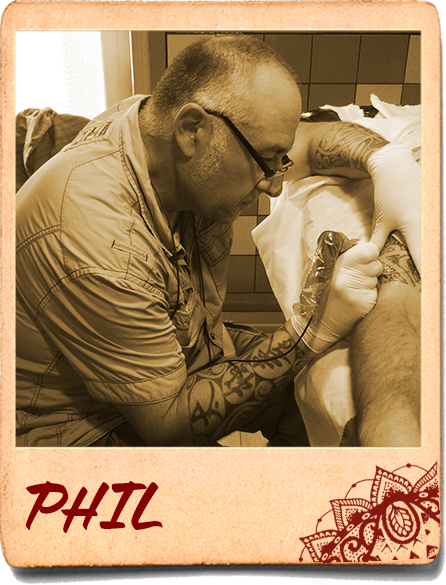 Phil tatoueur Art Flat Tatouage
